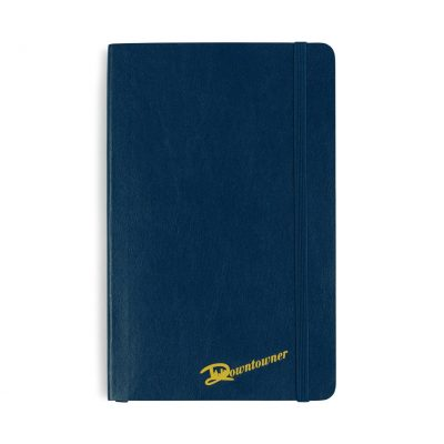 Moleskine® Soft Cover Ruled Large Notebook Blue