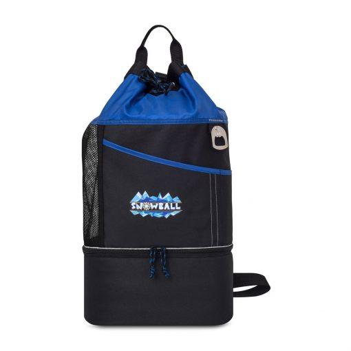 Oceanside Sport Cooler Tote Blue