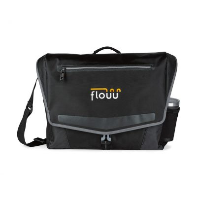 Stryder Computer Messenger Bag - Black