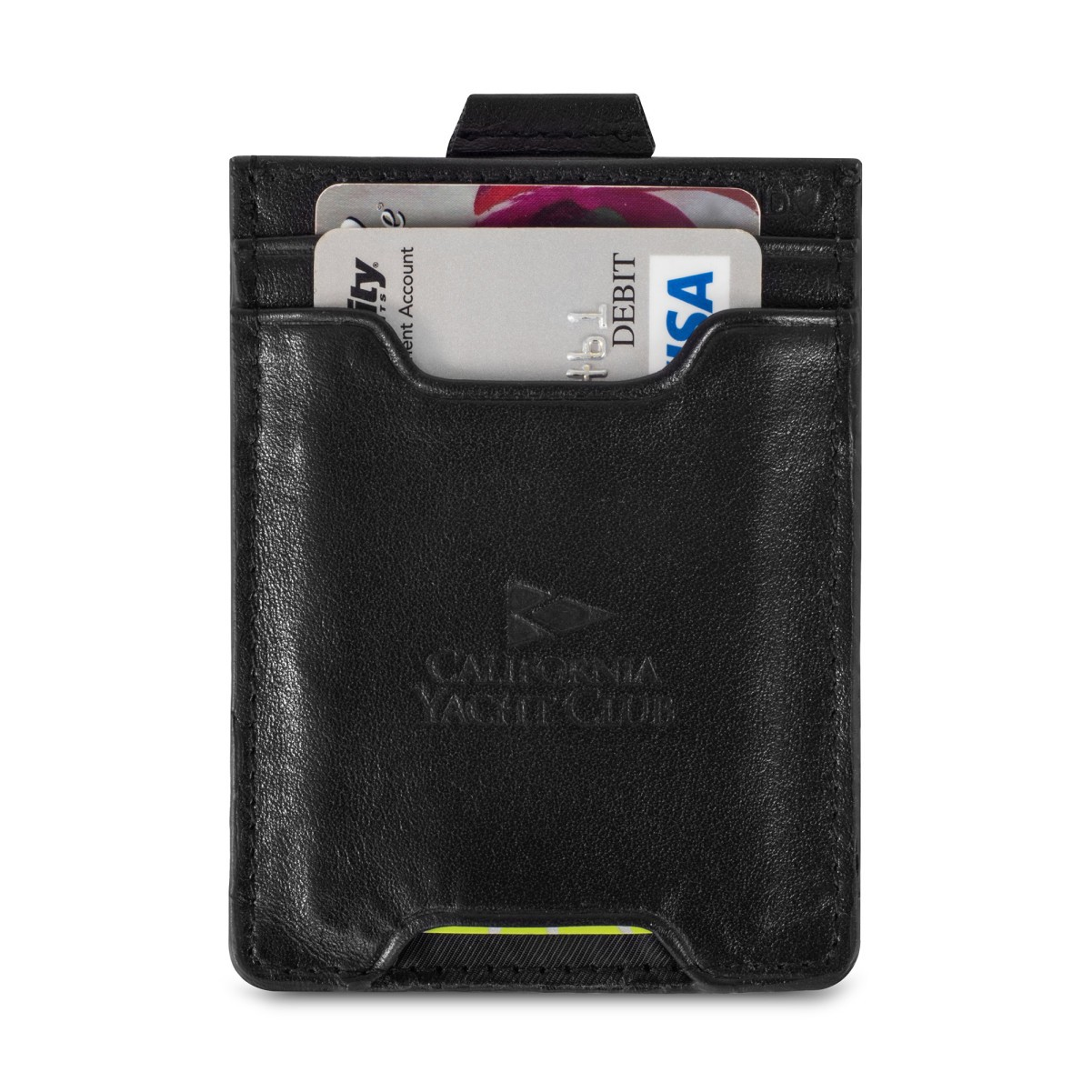 Travis & Wells™ Leather Wallet Black