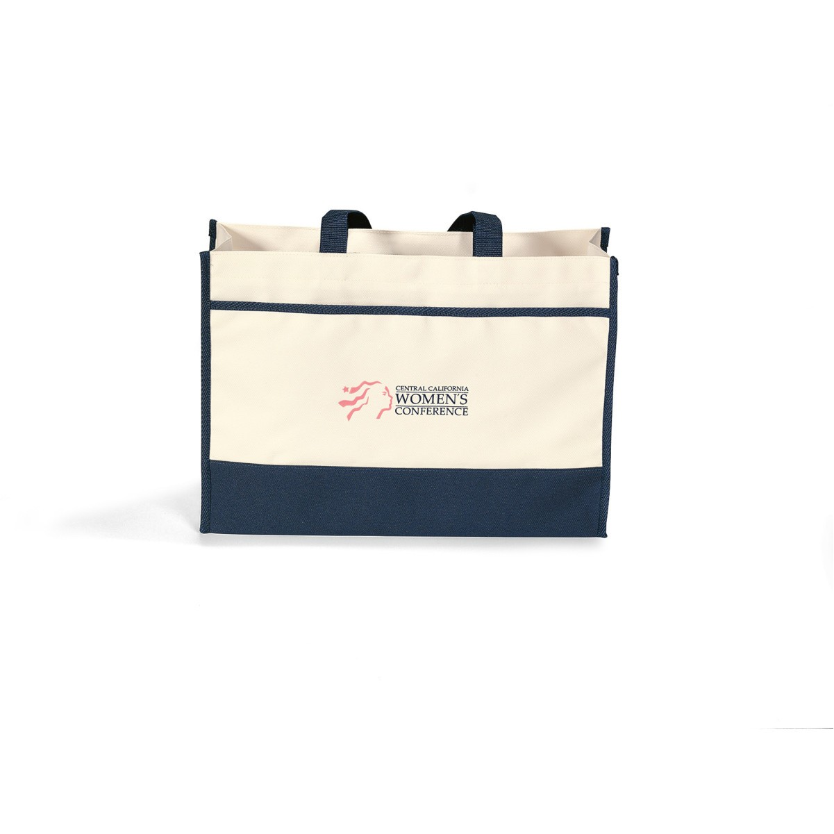 Contemporary Tote Blue-Natural