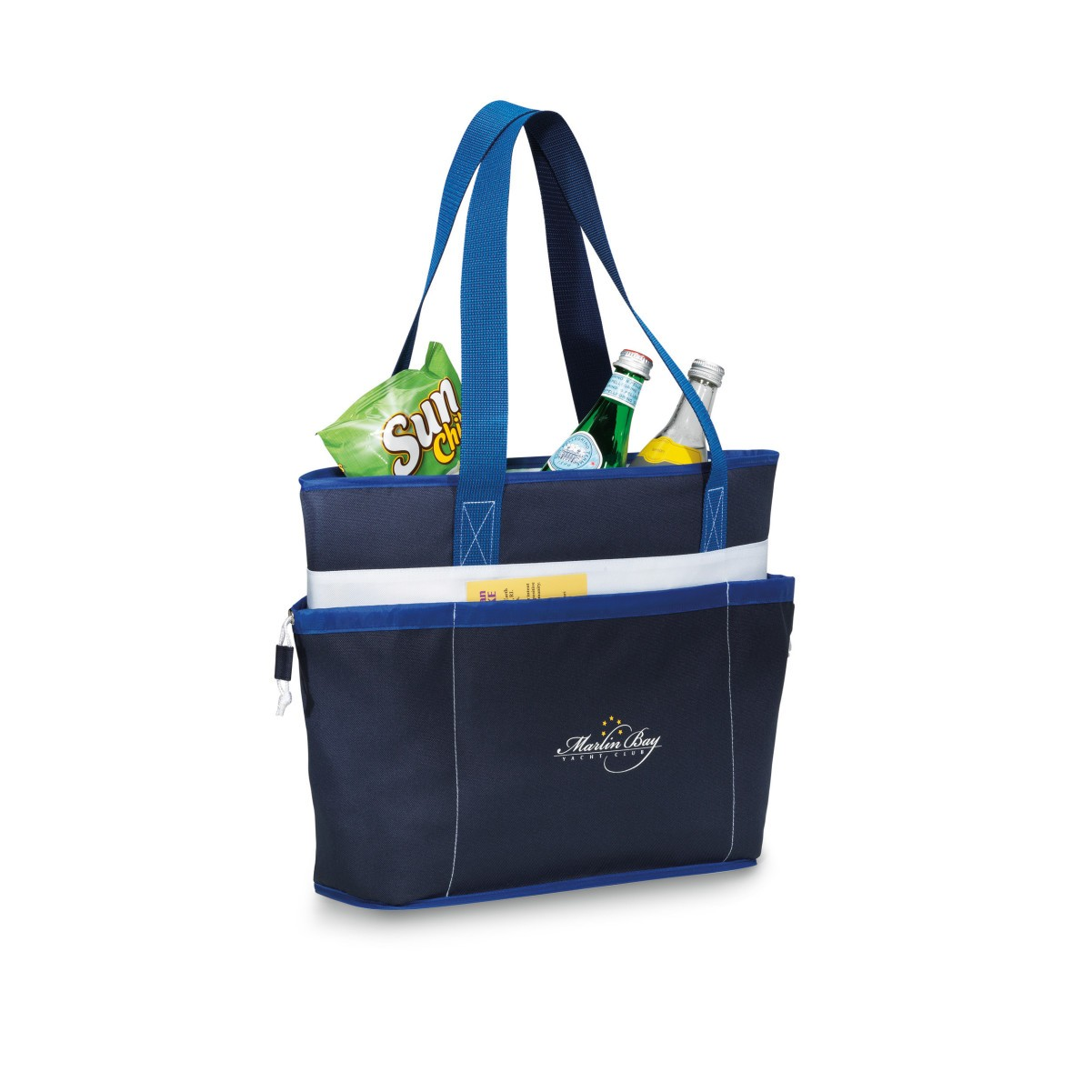 Vineyard Insulated Tote Blue