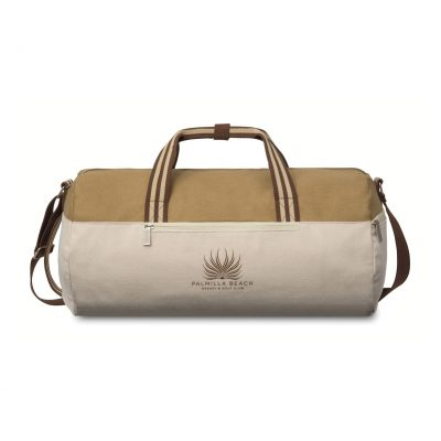 Charlie Cotton Barrel Duffel Natural