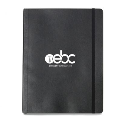 Moleskine® Soft Cover Ruled X-Large Notebook - Black
