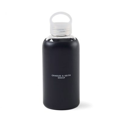 Purity Glass Bottle - 18.5 Oz. - Black