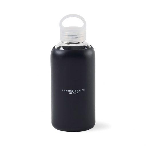 Purity Glass Bottle - 18.5 Oz. - Black