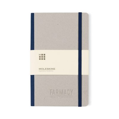 Moleskine® Time Collection Ruled Notebook Blue