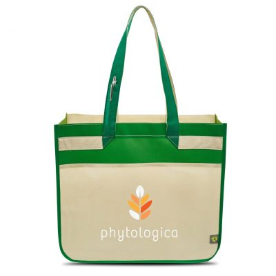 Sedona Laminated Shopper Green