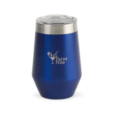 Aviana™ Vine Double Wall Stainless Wine Tumbler - 12 Oz. Blue