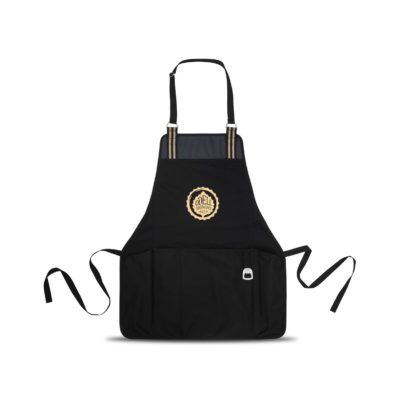 Charlie Cotton Grill Apron Black