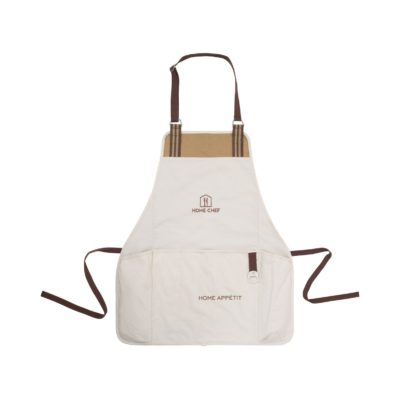 Charlie Cotton Grill Apron Natural
