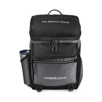 Excursion Computer Backpack with Insulated Pocket Black