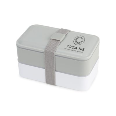 Kyoto Bento Lunch Box Grey