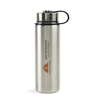 Andes Double Wall Stainless Bottle - 20 Oz. Silver