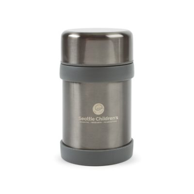 Aviana™ Alps Double Wall Stainless Food Jar - 12 oz. Grey