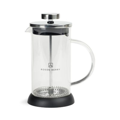 Barista Glass Coffee Press - 12 Oz. - Black