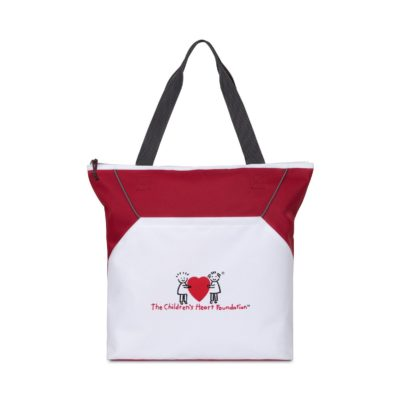 Everett Convention Tote - Red