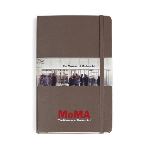 Moleskine® Hard Cover Ruled Large Notebook Brown