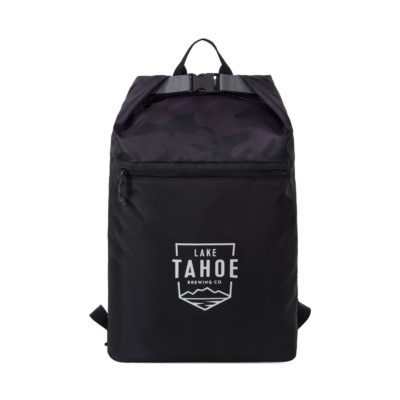 Rainier Roll Top Backpack Black