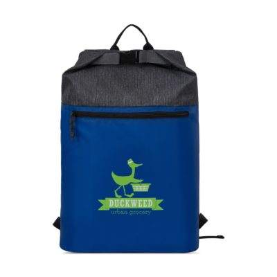 Rainier Roll Top Backpack Blue
