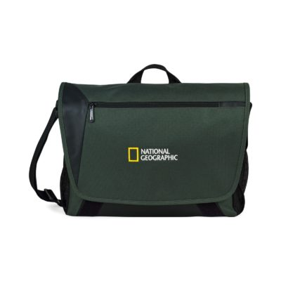 Sawyer Computer Messenger Bag Green