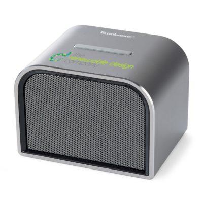 Brookstone® Ultra Bluetooth® Speaker Silver