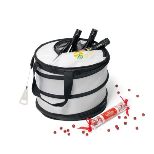 Collapsible Party Cooler Silver
