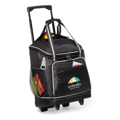 Harbor Wheeled Cooler Black