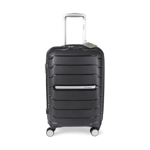 "Samsonite Freeform 21"" Spinner with Luggage Tag Black"