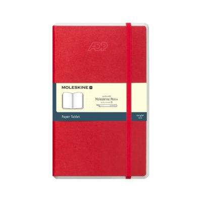 Moleskine® Paper Tablet N°1 - Dotted Paper Red