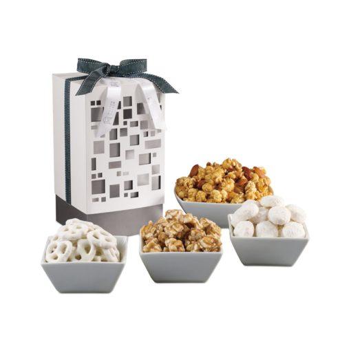 Mondrian Gourmet Gift Box White-Silver