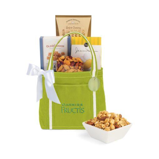 Piccolo Grab N' Gourmet Treats Tote Green