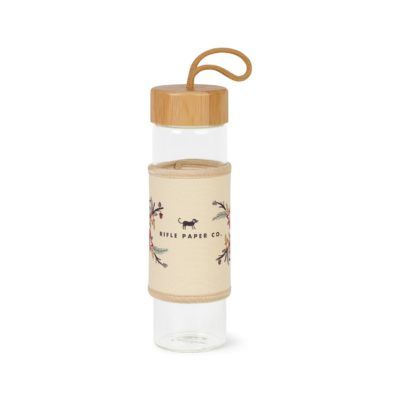 Serenity Bamboo Glass Bottle - 18.5 Oz. - Natural