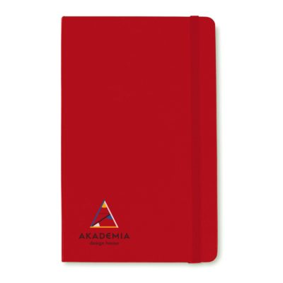 Moleskine® Hard Cover Squared Large Notebook Red
