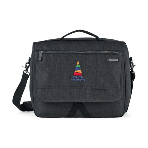 Samsonite Modern Utility Computer Messenger Bag Grey