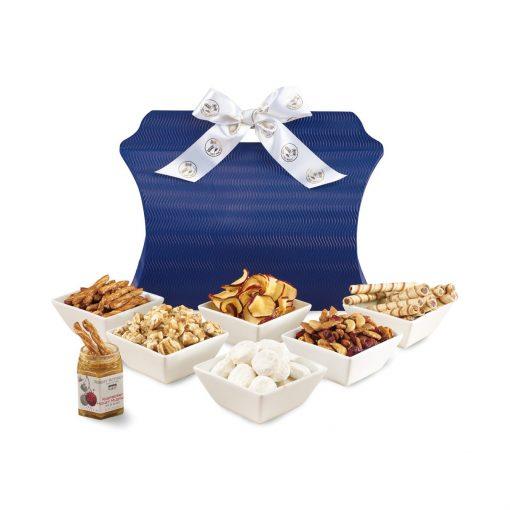 Sweet & Savory Gourmet Sampler Tote Blue