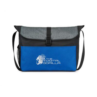 Rockland Messenger Bag Blue