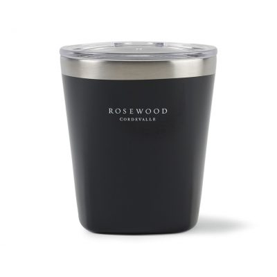 Aviana™ Collins Double Wall Stainless Lowball Tumbler - 10 Oz. Black