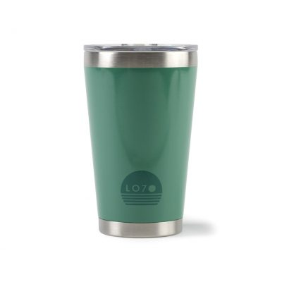 Aviana™ Vale Double Wall Stainless Pint - 16 Oz. Green