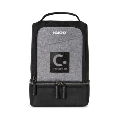 Igloo® Rowan Lunch Cooler Black-Grey