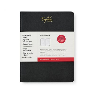 Moleskine® Cahier Subject X-Large Journal - Black