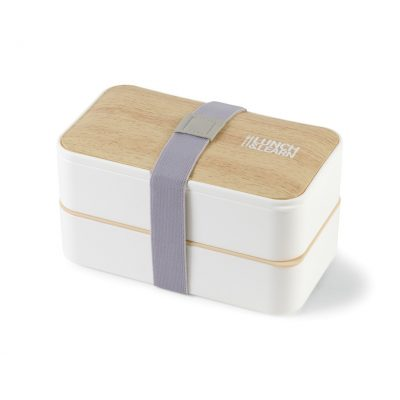 Osaka Bento Lunch Box - White