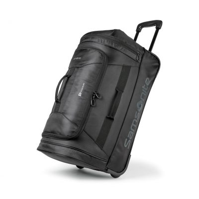 "Samsonite Andante 2 22"" Wheeled Duffel Black"