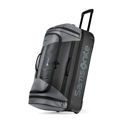 "Samsonite Andante 2 32"" Drop Bottom Wheeled Duffel Black-Grey"