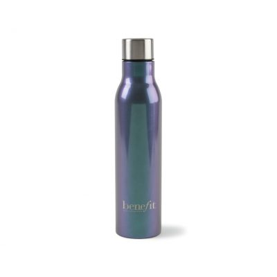 Sidney Double Wall Stainless Bottle - 17 Oz. White-Silver-Grey