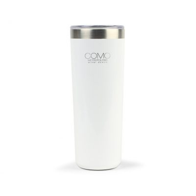 Aviana™ Ainsley Double Wall Stainless Highball Tumbler - 14 Oz. White