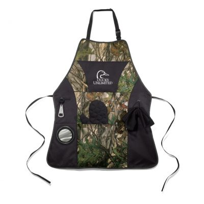 Grill Master Apron Kit Black-Camo-Green