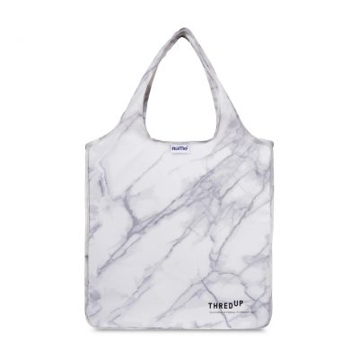 RuMe® Classic Medium Tote White-Silver-Grey