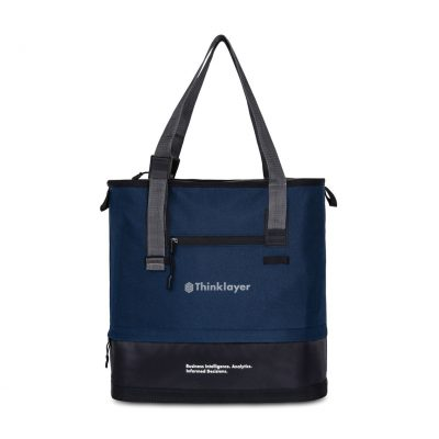 Brighton Adjustable Tote Blue-Navy