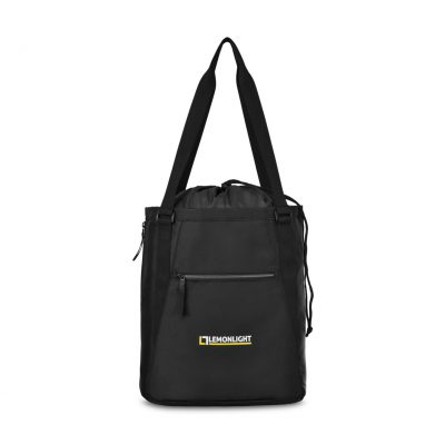 Leighton Gym Tote Black
